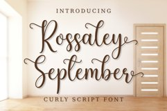 Rossaley September Product Image 1
