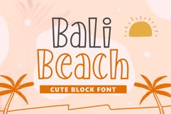 Bali Beach Product Image 1