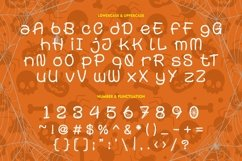 Spooky Monsta - Spider Web Display Font Product Image 6