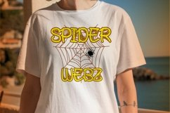 Spooky Monsta - Spider Web Display Font Product Image 3