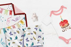 Birthday Watercolor Illustrations Product Image 2