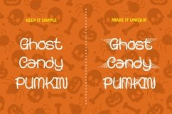 Spooky Monsta - Spider Web Display Font Product Image 4