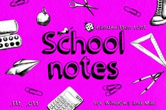 School notes Product Image 1