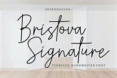 Bristova siganature font Product Image 1