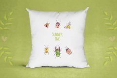 Cute insects clipart set Product Image 2