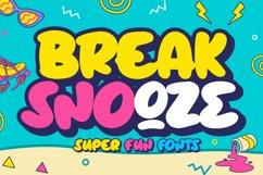 Break Snooze - Layered Fonts Product Image 1