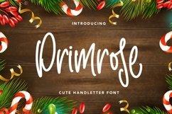Web Font Primrose - Cute Handletter Font Product Image 1