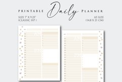 Printable Daily Planner Insert Product Image 2