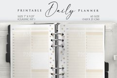Printable Daily Planner Insert Product Image 3