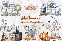 Halloween Decor Watercolor Set Product Image 1