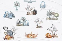Halloween Decor Watercolor Set Product Image 2