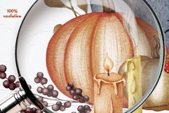 Halloween Decor Watercolor Set Product Image 4