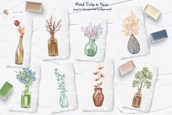 Dried Flowers Clipart Product Image 3