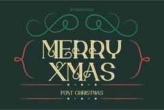 merry xmas font Product Image 1