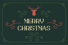 merry xmas font Product Image 2