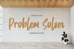 Problem Solver - Playful Display Font Product Image 1