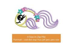 Baby Cute Fish machine embroidery designs Product Image 1