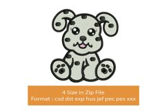 Baby Dalmatian machine embroidery designs Product Image 1