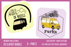 Printable RV Camping Stickers Product Image 2