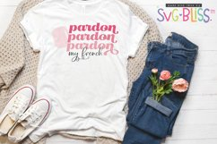 Pardon My French SVG Cut File/Sublimation, French Manicure Product Image 1