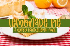 Lemonade Pie - A Quirky Handlettered Font Product Image 1