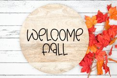Autumn Wishes - A Quirky Handlettered Font Product Image 2