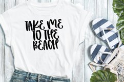 Beach Babe - A Quirky Handlettered Font Product Image 3