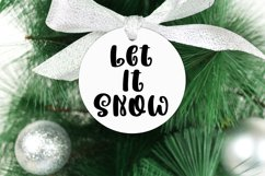 Holidays are Coming - A Handlettered Christmas Font Product Image 4