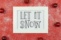 Holiday Weekend - A Quirky Christmas Font Product Image 4
