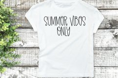 Summer Showers - A Quirky Handlettered Font Product Image 4