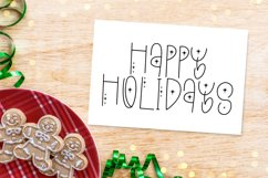 A Christmas Song - A Quirky Holiday Font Product Image 3