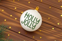 Christmas Margarita - A Quirky Christmas Font Product Image 2