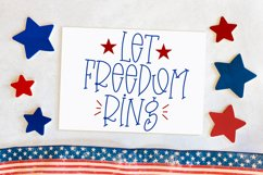 Fourth Of July - A Quirky Handlettered Font Product Image 3