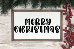 Holidays are Coming - A Handlettered Christmas Font Product Image 3