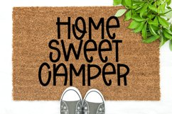 Beach Camping - A Quirky Handlettered Font Product Image 4
