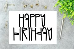 August Sunshine - A Quirky Handlettered Font Product Image 3