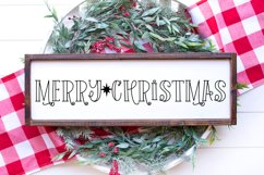 Holiday Weekend - A Quirky Christmas Font Product Image 2