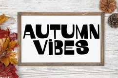October Vibes - A Groovy Handlettered Font Product Image 3