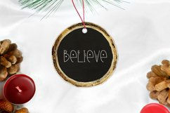 A Christmas Song - A Quirky Holiday Font Product Image 2