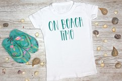 Beach Party - A Quirky Handlettered Font Product Image 4