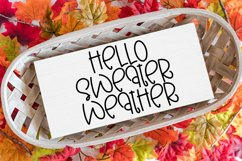 Autumn Wishes - A Quirky Handlettered Font Product Image 4
