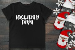 Holidays are Coming - A Handlettered Christmas Font Product Image 2
