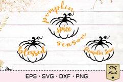 Pumpkin Spice SVG Product Image 1