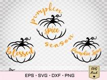 Pumpkin Spice SVG Product Image 3