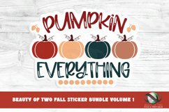 Sticker Bundle Fall Stickers 13 png Fall Printable Stickers Product Image 2