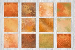 Pumpkin Spice Fantasy Gradients - 12 Seamless Patterns Product Image 2