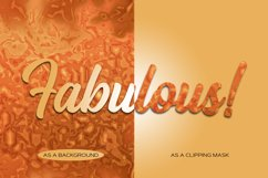 Pumpkin Spice Fantasy Gradients - 12 Seamless Patterns Product Image 3