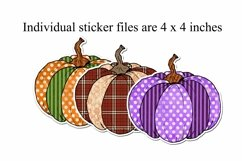 Pumpkin Stickers Bundle - Fall Design Stickers Product Image 2