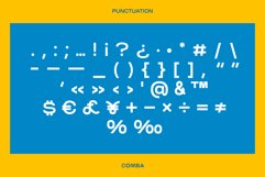 COMBA display Type & Logos Product Image 4