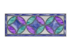 Mug Wrap Stained Glass Sublimation Product Image 2